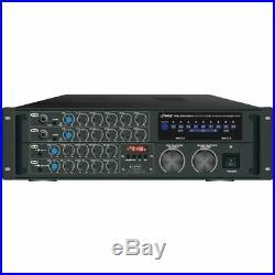 2,000-Watt Bluetooth(R) Stereo Mixer Karaoke Amp