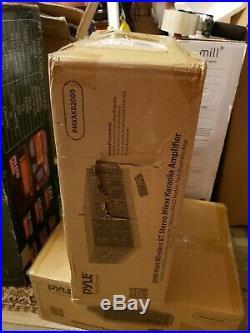 2000W Power Bluetooth Karaoke Mixer Amplifier Amp for Home Office USB/SD Readers