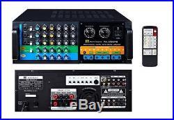 2017 Martin Roland MA3800KII 900 Watts Pro Karaoke Digital Mixing Amplifier AMP