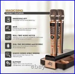 2020 E5 MAGIC SING Karaoke WIFI 2 Wireless MIC + 5000+ BUILTIN SONGS 1 YR SUBS