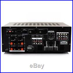4000 Watt Karaoke DJ MIXER MIXING AMPLIFIER STEREO KOKAudio MXA-808 New in Box