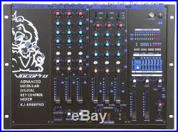 6 Channel Pro KH/DJ Mixer with Digital Key Control, 7 Band Graphic Equalizer