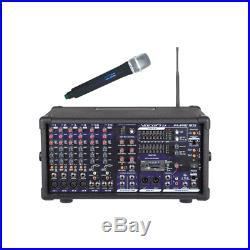 900 Watt Professional PA Karaoke Mixer SDR-3 UHF Module One Mic DSP Reverb NEW
