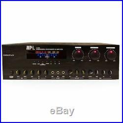 API A-502 Mixing Amplifier + K-909 10 Speaker Package