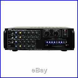 API A-801 600W Karaoke AV Mixing Amplifier & BMB CSN-300 8 Speaker Package