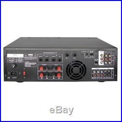 API A-801 Professional Karaoke AV Mixing Amplifier