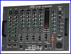 AUDIO2000 PROFESSIONAL KARAOKE or DJ MIXER with KEY CONTROL & ECHO AKJ7300