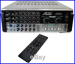 AUDIO2000'S 1000W KARAOKE MIXING AMPLIFIER With DIGITAL ECHO & KEY CONTROL AKJ7406