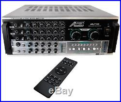 AUDIO2000'S 600W KARAOKE MIXING AMPLIFIER With DIGITAL ECHO & KEY CONTROL AKJ7405