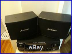 Acesonic AM-145 Input AC 115V-230V Watt Karaoke Mixing Amplifier Speaker