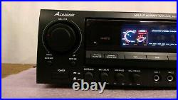 Acesonic AM-145 Karaoke Mixing Amplifier 80-Watt withPower Cord Powers On -Used