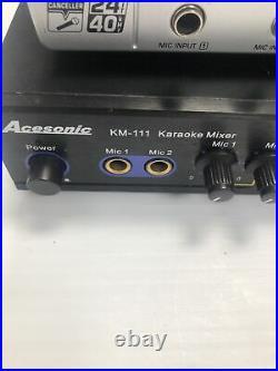 Acesonic KM-111 And Behringer Mini-Mix Karaoke Mixers