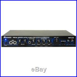 Acesonic KM-112 Studio Recording Equipment Karaoke Mixer