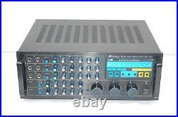 Acesonic Model AM-825 600W Karaoke Mixing Amplifier Tested