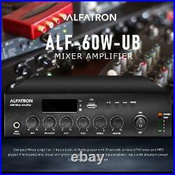 Alfatron ALF-60W-UB Mixer Amplifier