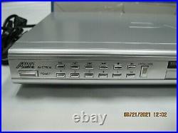 Audio 2000 avc7504 karaoke player mic inputs digital echo key control karaoke