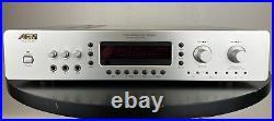 Audio 2000's AKJ-7046 Digital Key Echo Karaoke Mixer Amplifier (Silver Edition)