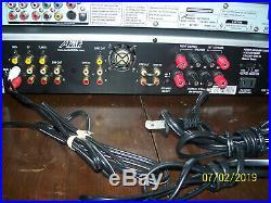 Audio 2000's AKJ7046 Professional Karaoke Mixer With Audio2000's AVC7504 Player