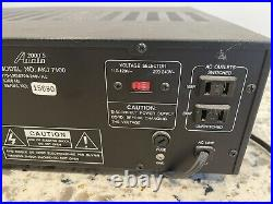 Audio 2000s AKJ7100 K & Digital Echo Karaoke Mixer