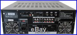 Audio2000 1000W Karaoke Mixing Amplifier with Echo & Key Control, AKJ7406