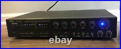 Audio2000'S AKJ7041 Karaoke Mixer With Digital Key Control And Echo TESTED
