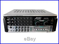 Audio2000'S AKJ7405 Professional Karaoke Mixing Amplifier with Digital Echo and