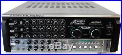 Audio2000'S AKJ7406 Professional Mixing Amplifier with Digital Echo & Key 1000W