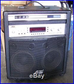 Audio2000's AKJ-7046 Karaoke Mixer Amplifier