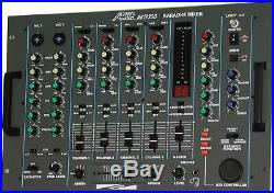 Audio2000's AKJ7300 PROFESSIONAL KARAOKE/ DJ MIXER with KEY CONTROL & ECHO -NEW