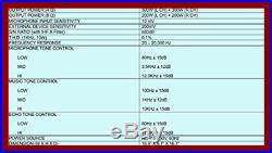 Audio2000's AKJ7405 Professional Karaoke Mixing Amplifier W Digital Echo & Key C