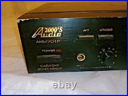 Audio2000's Model AKM701P Echo Karaoke Mixer USED