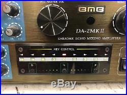 BMB Better Music Builder DA 2MKII Karaoke Echo Mixing Amplifier 600W 300w+300W