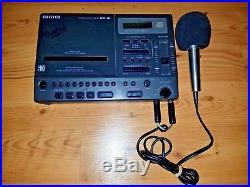 BMB CD-GI Portable Karaoke Ninja Processor CD/CDG Player & Microphone