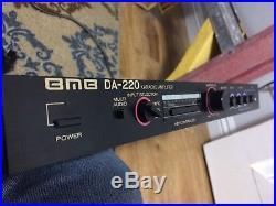 BMB DA-220 Karaoke Amplifier with key controller