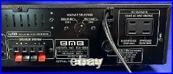 BMB DA-550, Karaoke A/V Amp, by Nikkodo-50WPC-2 Mic-Echo/Delay/Repeat-Old Stock