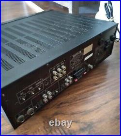 BMB DA-J7MK2 Karaoke Digital Echo AV Amplifier w Key Controller Read Description