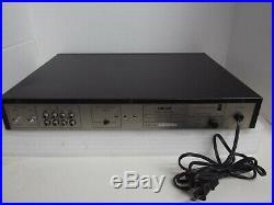 BMB DEP-6600K Digital Echo Processor Key Karaoke Mixing Controller Amplifier