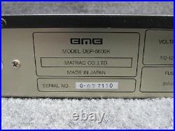 BMB Digital Echo Processor WithDigital Key Controller DEP-6600K Karaoke Mixer