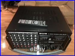 BVB VA-100MKII Pro Karaoke Mixing Amplifier, 3000 Watt, Bluetooth, HDMI