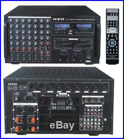 BVB VA-100MKII Professional 3000W HDMI Amp Karaoke with Bluetooth & Record