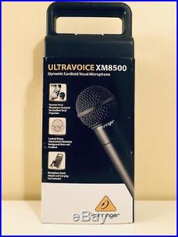 Behringer Minimix Mix800 UltraCompact Karaoke Voice Canceller + XM8500 Mic bunle