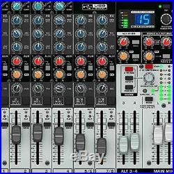 Behringer X1204USB Premium 12-Input 2/2-Bus Mixer, 24-Bit Multi-FX Processor