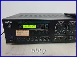Better Music Builder DX-222 KARAOKE Amplifier BMB with Remote