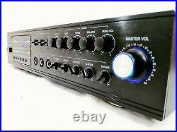 Boston Audio BA-5808 Professional Karaoke Mixer