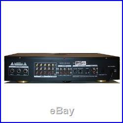 Boston Audio BA-5808 Professional Karaoke Mixer with Key Control