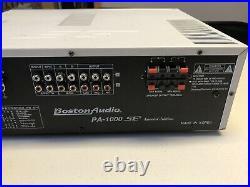Boston karaoke amplifier Special Edition