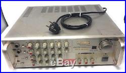 CALIFORNIA ELECTRONICS PRO-555R Mixing Amplifier 400 Watts Untested