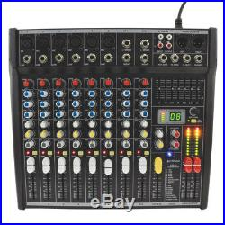 Citronic CSL-10 10 Channel Live Mixer + Studio Mixing Desk + 24-bit Effects + EQ