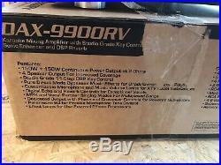 DAX-9900RV Studio Grade Karaoke Amplifier Open Box In Excellent Shape