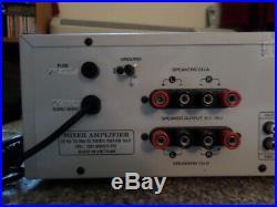 Dalton Da-7800a Pro-karaoke Digital Stereo Echo Mixing Amplifier 400w Tested